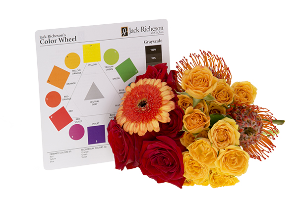 Supplies Used In Analogous Color Harmony