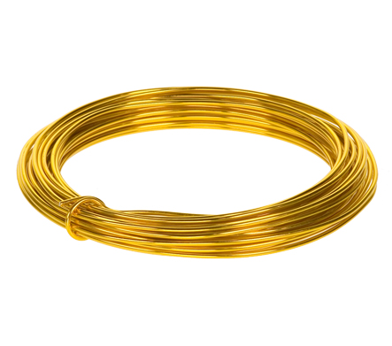 Aluminum Wire Single 39 Ft Spool 12 Gauge (Gold) [2056421GO ...