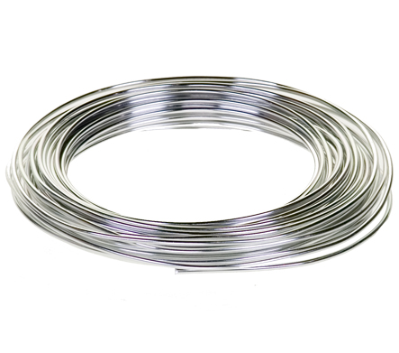 Aluminum Wire Single 39 Ft Spool 12 Gauge (Silver) [2056421SI ...
